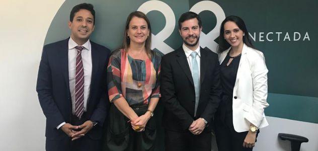 Gerente Jurídica da PrevBahia | PrevNordeste se reúne com líderes da área jurídica de entidades congêneres em Brasília