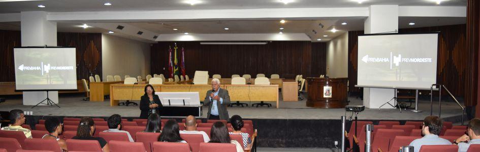 Arquitetando Sonhos: Servidores do Tribunal de Justiça da Bahia participam de bate-papo com a PrevBahia | PrevNordeste
